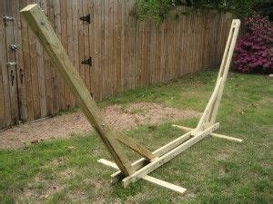 Your Own Hammock by Make Your Own Hammock Stand With My Diy Plans Cool