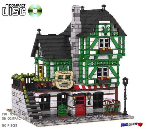 Cd Pretzel Haus Bakery Modular Lego Custom Instructions