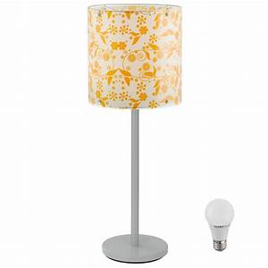 7 watt led table lamp lamp stand garden flowers pattern With 7 light flower floor lamp