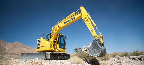 komatsu pcuslc  hydraulic excavator pine bush equipment
