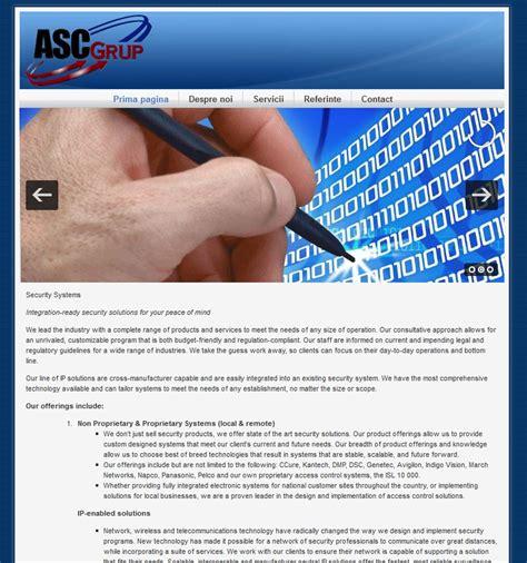 asc draghici demo presentation website
