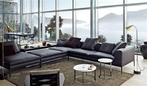 canapé b b italia sofa in grau 50 wohnzimmer mit designer