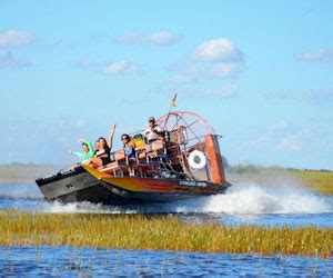 Miami Boat Show Promo Code by Everglades Airboat Adventure With Biscayne Bay Cruise Tour