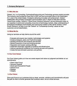 consulting proposal template 16 free sample example With hr consulting proposal template