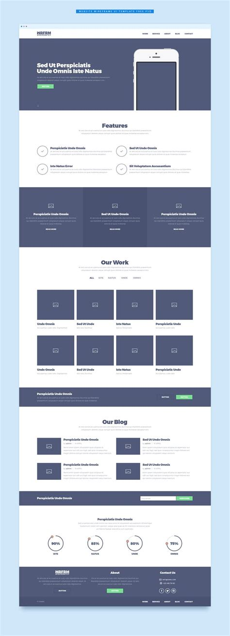 Tools To Create Website Templates by 25 Best Ideas About Wireframe On Pinterest Wireframe