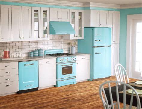 modern  kitchen retro kitchen appliances retro