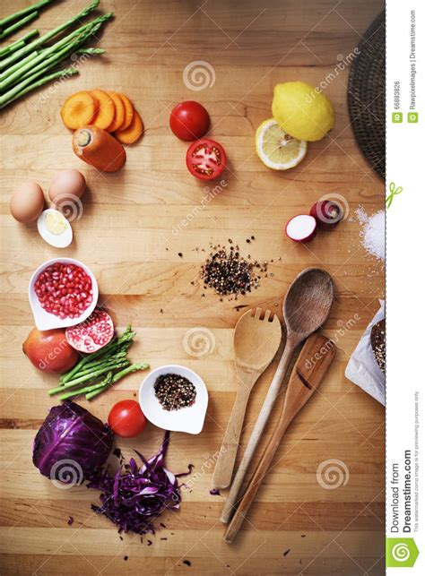 cuisine culinaire cuisson du concept culinaire de cuisine d 39 ingrédient de préparation photo stock image du