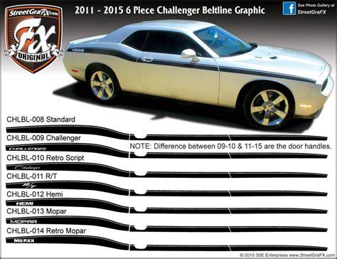 Dodge Challenger Graphics/Stripes/Decals ? streetgrafx