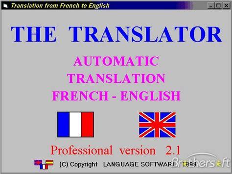 translate document  french  english  vice versa