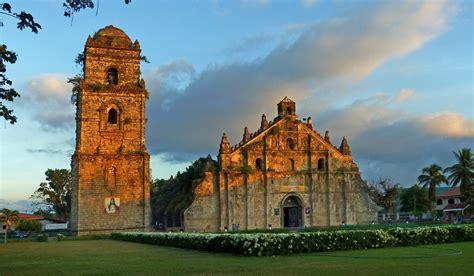 paoay church ilocos norte philippines  image