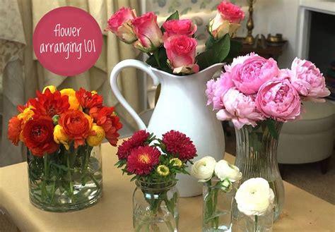 Arranging Flowers by Best 25 Summer Flower Arrangements Ideas On