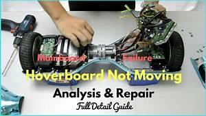 Hoverboard Not Moving Troubleshooting Repair  U2013 Wheel Stuck