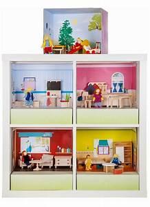 Ikea Kinderzimmer Regal : ein echtes kinderspiel das puppenhaus im ikea expedit kallax regal ikea hacks pimps ~ Markanthonyermac.com Haus und Dekorationen
