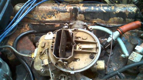 Lincoln Continental Stalling Carburetor Fix Youtube