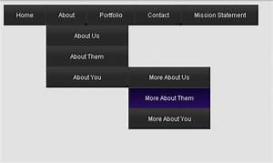 48 free dropdown menu in html5 and css3 smashingappscom With html5 drop down menu template