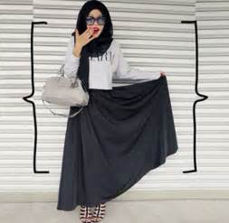 hijab style gaya busana fashion blogger populer asal