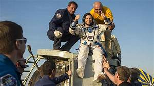 3 space station astronauts safely return to Earth, land in ...