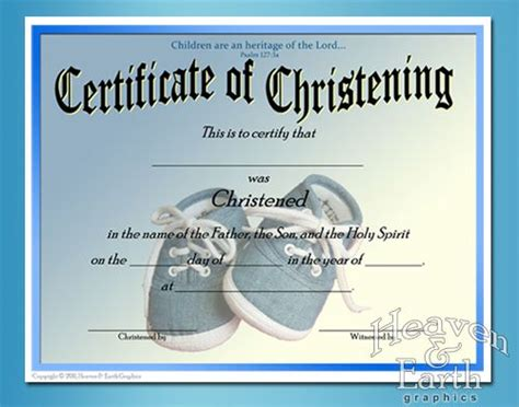 Baptism Certificate Template Free by Baby Christening Certificate Template Free Baby Boy