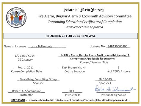 bureau of educator certification education certificate nj education certificate