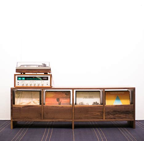 Vinyl Cabinet by Ultimate Vinyl Lover Decor Designs Ideas On Dornob