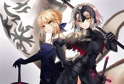 Pendragon Jeanne Alter Arc Saber Hair Fate