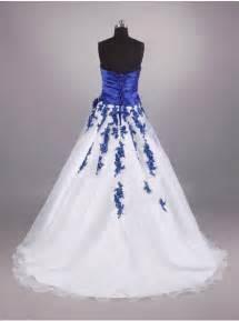 royal blue and white wedding dresses royal blue and white wedding dresses pictures ideas guide to buying stylish wedding dresses