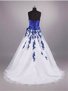 royal blue and white wedding dresses pictures ideas With white and royal blue wedding dress