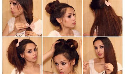 running late quick easy hairstyles for school