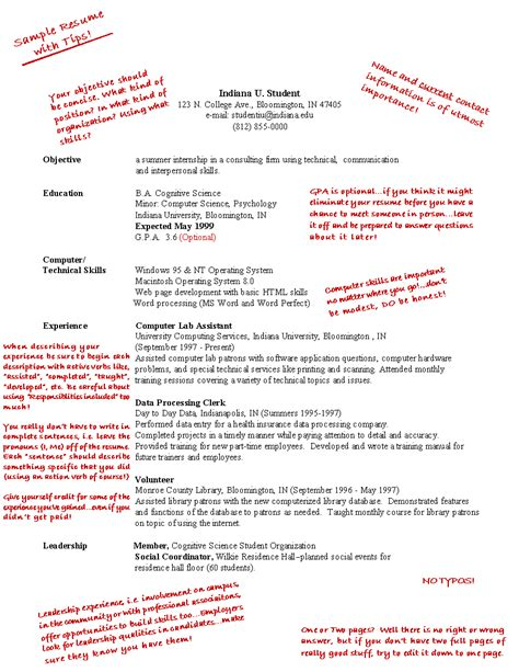 how to write career goals in cv resume format for