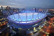 BC Place Stadium Illumination - October 15