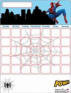 Halloween Printable Invitations Calendar Spiderman Calendars Free Printable Ideas From