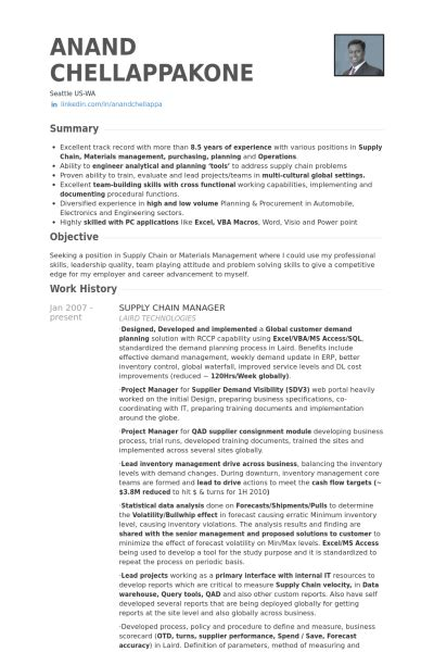 Supply Chain Project Manager Resume by Supply Chain Manager Resume Exle Beautiful Landscapes