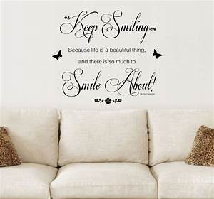 inspirational wall art stickers With wall art quotes