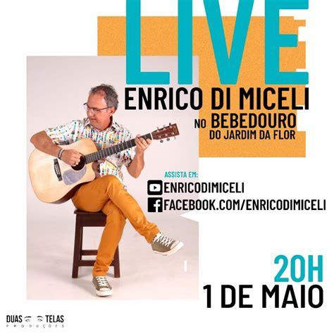 foto de HOJE tem live de Enrico Di Miceli direto do Bebedouro do