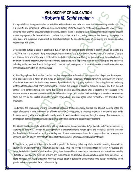 sample philosophy of education statement branding and 801 | 83df927e558f219551b85cadd8a360ff teacher portfolio student teaching