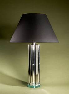Phillips and wood aviator table lamp for Gazzetta 5 light table lamp