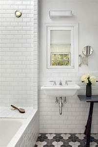 Faience Blanche Salle De Bain : idee salle de bain blanche avec des id es ~ Dailycaller-alerts.com Idées de Décoration