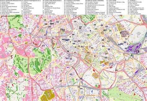 karten und stadtplaene rom