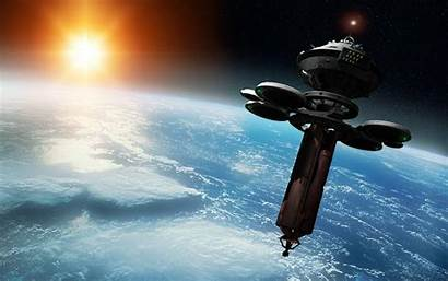 Space Sci Station Fi Wallpapers Walldevil