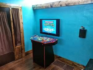 4 player pedestal arcade cabinet for mame