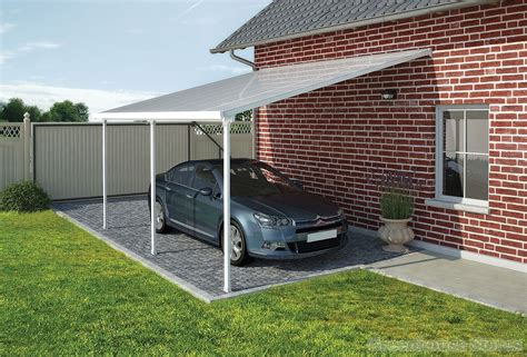 A carport obviously would be a much smaller investment than investing in building an attached or detached garage. Palram Feria 3m Carport in 7 Lengths | Greenhouse Stores