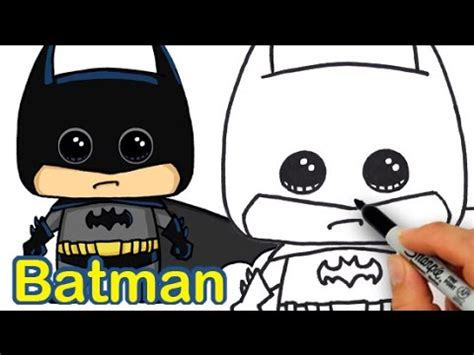 How to Draw Batman Cute and Easy   YouTube