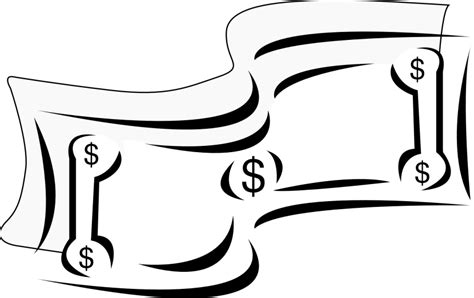 money clipart black and white money clipart black and white clipartion