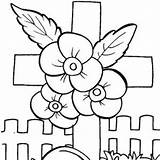 Memorial Coloring Pages Clipart Printable Clip Cards sketch template