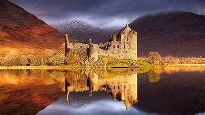 Scotland Castle Wallpapers Scottish Nature Kilchurn Landscapes