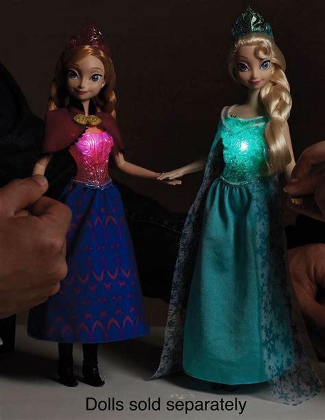 children disney frozen musical magic anna doll