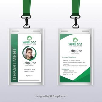 faculty id card template id card vectors photos and psd files free