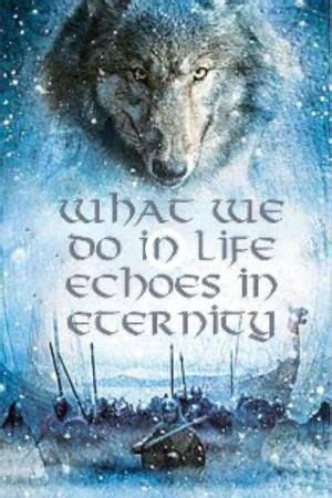 What we do in life echoes in eternity   Warrior quotes ...