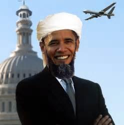 Obama as a Muslim Praying in White House