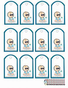 Free Printable Boy Baby Shower Favor Tags